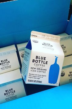 Pin for Later: 13 Awesome Foods You Didn't Know You Could Get at Costco Blue Bottle New Orleans Iced Coffee Coffee Milk, Coffee Creamer, Iced Coffee, Costco Finds, Costco Shopping, Costco Appetizers, New Orleans Coffee, Healthy Freezer Meals, Freezer Cooking