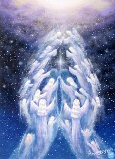 healing angel hands release fear and doubt Kunst Online, I Believe In Angels, Praying Hands, Angels Among Us, Real Angels, Angel Pictures, Angels In Heaven, Heavenly Angels, Guardian Angels