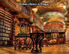 The amazing Strahov library...