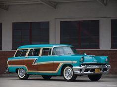 1956 Mercury Monterey Station Wagon.
