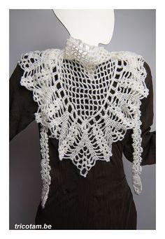 Tricotam - Crochet japonais: le défi http://tricotam.be/mon-blog/169-crochet-japonais-le-defi