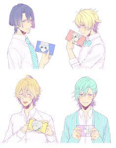 Baby Pictures - Masato, Syo, Natsuki, and Ai