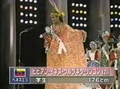 Manta Guajira fue el Traje Utilizado por Vivian Urdaneta, en Ocasión de Representar a Venezuela en el Concurso Miss International 2000 en Japón..