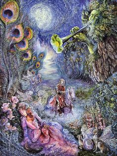 Enchanted Forest by Josephine Wall