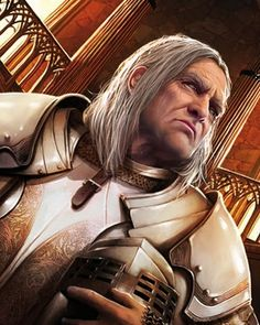 "Barristan the Bold, Ser Grandfather - Known as ""The Bold"" after sneaking into a tournament and winning a joust against the Prince of Dragonflies whilst all of ten years old, Barristan Selmy is one of the most renowned knights in the Seven Kingdoms."
