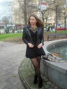 Un vestido para mí: total 'black look