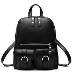 FLYING BIRDS women backpack in casual daypacks women leather Backpacks bag ladies girls school shoulder bags female bag LM3320fb