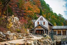 Soak up all the beauty of the falls out at Dogwood Canyon! Dogwood Canyon, Trout Fishing, Horseback Riding, Great Places, Acre, How To Memorize Things, Tours, Cabin, Adventure