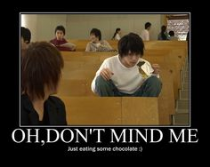 Death Note- I don't know why this is funny :P