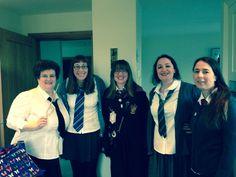 School trip Diy Party, Harry Potter, School, Coat, Jackets, Dresses, Fashion, Down Jackets, Vestidos