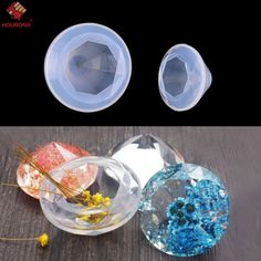 Diamond Silicone Ice Mould Resin Pendant Jewelry Making Mold DIY Craft Tool