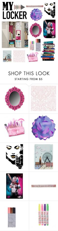 """""""Decorate your locker !"""" by rachastyle ❤ liked on Polyvore featuring interior, interiors, interior design, home, home decor, interior decorating, FiloFax, 7 For All Mankind, Natural Life and Pusheen"""