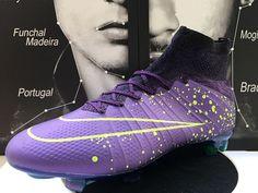 Buty Piłkarskie Nike Mercurial Superfly FG Purpurowy Volt