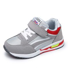 New Boys Girls Children Shoes PU Leather Breathable Sneakers Kids Sport  Running Flats Casual Fashion Outdoor df0dfc03184e