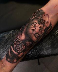 #tattoo #tattoos #blackandgreytattoos #torontotattooartist #torontoartist #tattoooftheday #toronto #realismtattoos #bishoprotary… Portrait Tattoos, Toronto