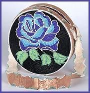 native american bead loom floral designs - Google Search