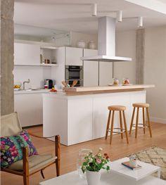 pontos de interesse: cozinhas práticas.