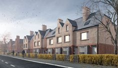 SECTOR: Housing  DESCRIPTION: New build family dwellings, Manchester  VALUE: Undisclosed  STATUS: Planning   The Green End The project comprises twenty new-build family houses on the site of a former public house. By demolishing the pub the focus of the site is drawn back to providing a blank canvas for innovative housing to respond to a