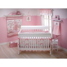 Disney Baby Princess Happily Ever After 3 Piece Crib Bedding Set