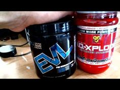 Best Pre-Workouts: EVL ENGN VS N.O. Xplode