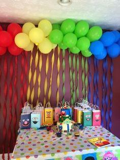 Balloon Arch/Sesame Street Party