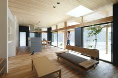 Agui House by Alts Design Office downstairs