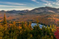 Autumn in the Adirondacks from Mount Jo [OC][3000x2000]