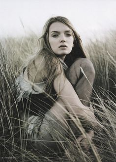 Lily Donaldson in i-D Magazine by Donald Christie