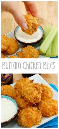 Buffalo Chicken Bites | From: sweetpeaskitchen.com