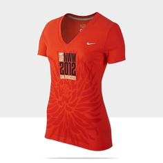 Nike NWM12 (Women's Marathon) Women's T-Shirt. A great graphic with a more flexible imprint area.