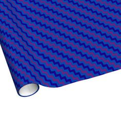 Shop Chic Wrapping Paper: Plum, Blue and Navy Chevrons Wrapping Paper created by poshandpainterly. Navy Chevron, On The High Street, Custom Wrapping Paper, Paper Goods, Plum, Wraps, Stationery, Gift Wrapping, Chic