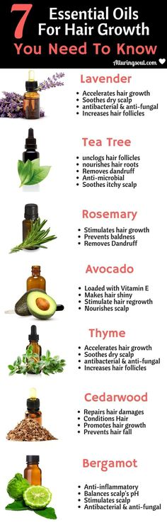 Apply these essential oils for hair growth, prevent hair fall and get shiny and long hair. #haircareoil, #HairGrowth