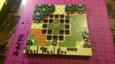 Zelda   Paper Diorama by Pam Yee