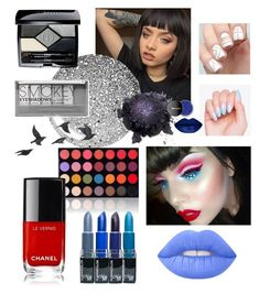 """""""red white and blue"""" by beanpod ❤ liked on Polyvore featuring beauty, Topshop, Boohoo, Christian Dior, Lime Crime, Shany and Jayson Home"""