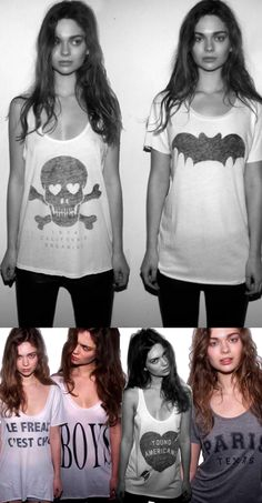Keyewt razor backs by Wildfox. LOVE! ~ <3 ari