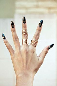 50 Easy Stiletto Nails Designs and Ideas