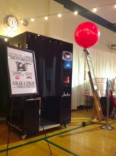 The photo booth down at All Saints' 30th Annual Auction in NE Portland.