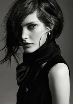 "Catherine McNeil, photographed by Steven Pan for the Hermès exhibition ""Studies in Silver"""