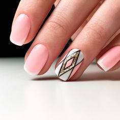 Awesome French Manicure Designs for a Modern Woman ★ See more: https://naildesignsjournal.com/awesome-french-manicure-designs/ #nails