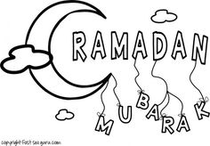 Printable ramadan mubarak coloring pages for kids.free online print out ramadan mubarak coloring book for kids.print out islamic activities worksheets for kids.word search,crafts for kids,preschool,mazes puzzles Ramadan Cards, Ramadan Greetings, Eid Activities, Kids Printable Coloring Pages, Coloring Pages For Teenagers, Eid Crafts, Islam For Kids, Ramadan Decorations, Worksheets For Kids