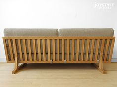 joystyle-interior: An amount of money changes by full cover ring sofa wooden sofa -3P sofa -SPOKE-LS net shop-limited original setting ※ material of the Japanese oak materials Japanese oak pure materials tree wooden frame! | Rakuten Global Market