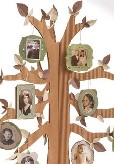 cardboard family trees - Buscar con Google