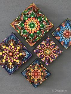 Mandala Canvas, Mandala Artwork, Mandala Dots, Mandala Painting, Mandala Pattern, Mandala Design, Rock Painting Patterns, Dot Art Painting, Stone Painting