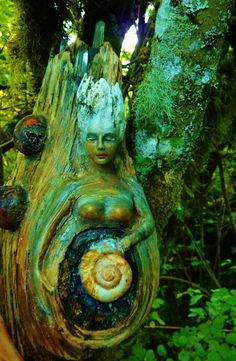 What Lies Within Fantasy Tree Spirit Fairy Forest by ShapingSpirit