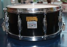 "My own refurbished 1932 Autocrat Art Deco 6,5"" vintage snare!"