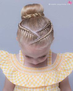 Hair Styles For School Stunning Kids Hairstyles Ideas You Have To Try Right Box Braids Hairstyles, Open Hairstyles, Back To School Hairstyles, Dress Hairstyles, Trending Hairstyles, Little Girl Hairstyles, Hairstyle Ideas, Kids Hairstyle, Creative Hairstyles