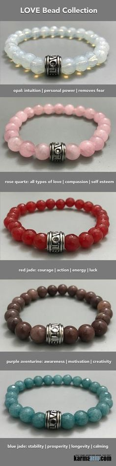 Yoga Bracelets. LOVE Stretch Chakra Beaded Jewelry. Mantra.Meditation Mindfulness. Energy Healing.                   ♛ #BEADED #Yoga #BRACELETS  #Buddha #Om #Chakra #gifts #Macrame #Stretch #Womens #jewelry #Tony #Robbins #Eckhart #Tolle #Crystals #Energy http://kundaliniyogameditation.com/