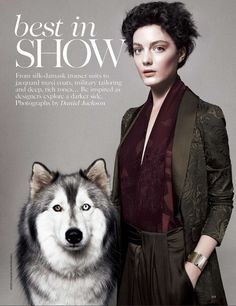 Beautiful!!! cool chic style fashion: VOGUE UK: BEST IN SHOW BY PHOTOGRAPHER DANIEL JACKSON