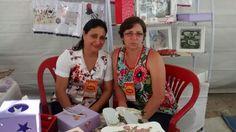 Irmãs talentosas,Rosangela e Amélia presentes na 6° edição da FEARC no Parque de Exposição de Conquista 2015.