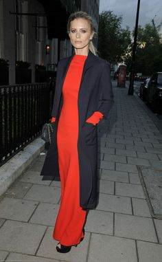 Laura Bailey attends the London Collections: Men dinner hosted by Tom Ford and Dylan Jones.